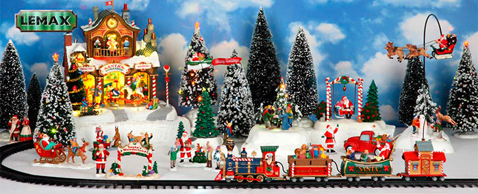 Lemax Santa's Wonderland Village Collection
